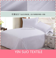 hospital white bedding cotton/cheap price bed sheet