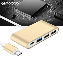 Multi Function Type C 4 in 1 USB Adapter High Quality USB Hub Type C to USB 3.0 for Macbook