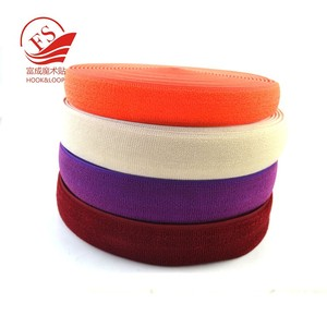 Gold supplier factory elastic satin ribbon by the yard
