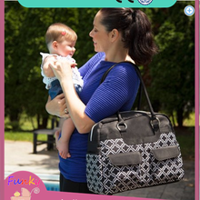 Microfiber Diaper Bag, 2-Piece Set