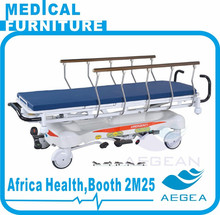 AG-HS001 Implantable al-alloy handrails hospital stretcher prices