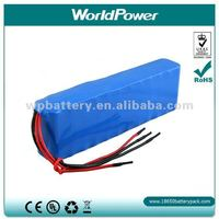 Replacement 24V 10Ah silver fish style Lithium ebike Battery Pack