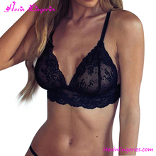 Hot Selling Black Lace Lingerie Underwear Sexy Girl Bra Sets