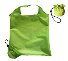 Hot folding fruit shape reusable promotion canvas shopping bag
