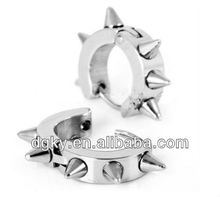 2013 stainless steel fashion cone earring
