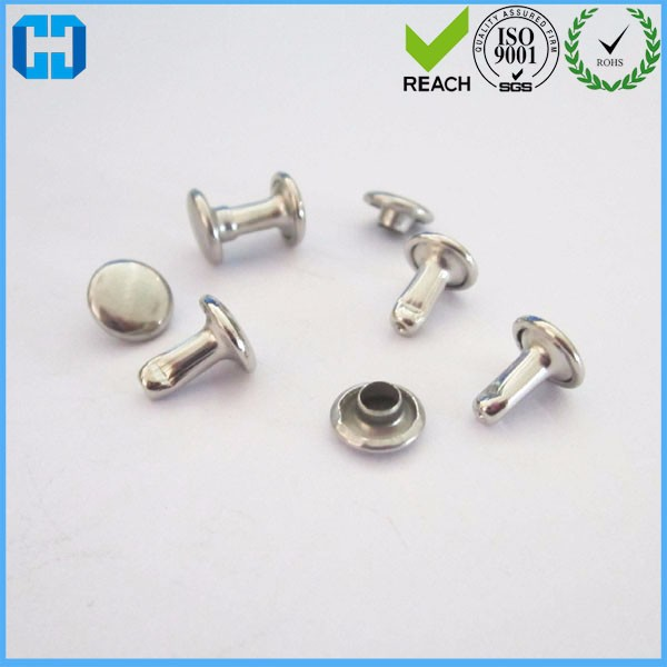 Mini Nickel Double Cap Rivets Rapid Rivets