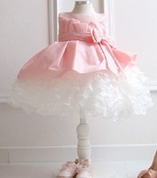 C27730A Child Girl Fluffy Dress Prom Dress