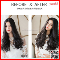 YASHI 2016 fancy hair extension labels of human hair