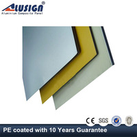 Alusign cheap 3mm/0.21mm aluminum honeycomb panels decorative kitchen wall panels