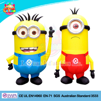 Cheap large inflatable minion model/advertising inflatables