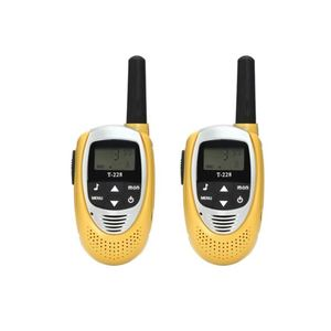 kids toy 8-22 Channels wireless walkie-talkie with Backlit LCD Screen intercom