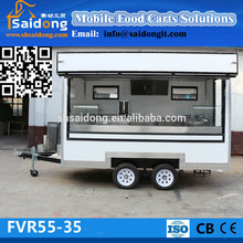 Mobile Street Food Vending Cart/Coffee Van