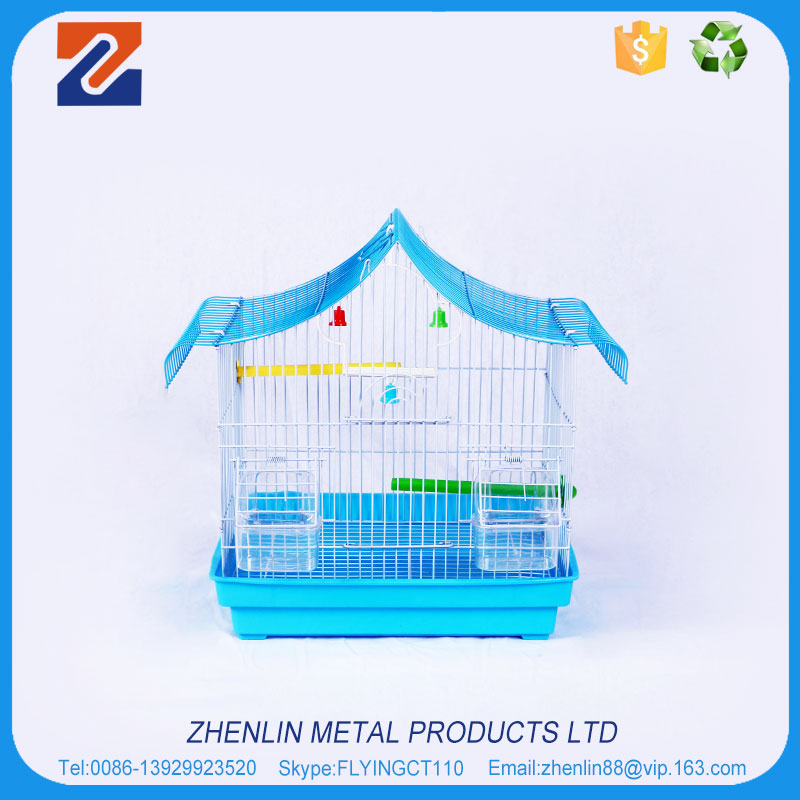 2017 Brand new chinese folding metal bird cage front