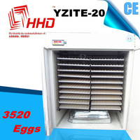 HHD CE YZITE-20 packaging for quail eggs egg incubators prices fertilized eggs for sale