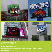 small outdoor hd wall board indoor full color video led display screen