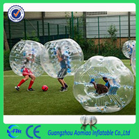 Trade Assurance inflatable human bubble football play on grass