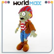 Various Styles Promotional Pirate Zombie Lovely Baby Stuffed Toy