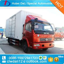 china box cargo truck alibaba website,DongFeng brand small cargo trucks 4.5T mini van electric