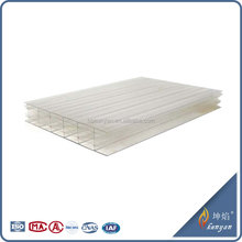China supply polycarbonate multi layer balcony roof covering