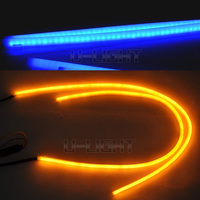 Hot selling LED flexible strip light with dual color white/yellow for DRL and turn light flexible led strip light
