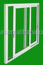 2015 price pvc windows with double glass