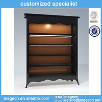 large clothing cosmetic display cabinet