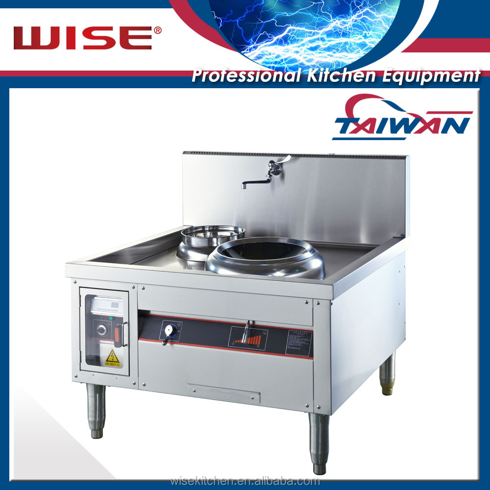 Cast Iron WOK Commercial Induction Stove For Star Hotel