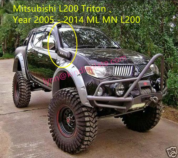OFF ROAD SNORKEL kits for Mitsubishi Triton Year 2005 - 2014 ML MN L200