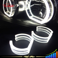 2015 New design car auto led light ring crystal angel eyes for bmw e92