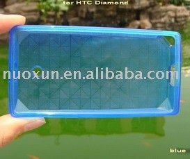 Transparent-Resin Soft Case for HTC TOUCH DIAMOND