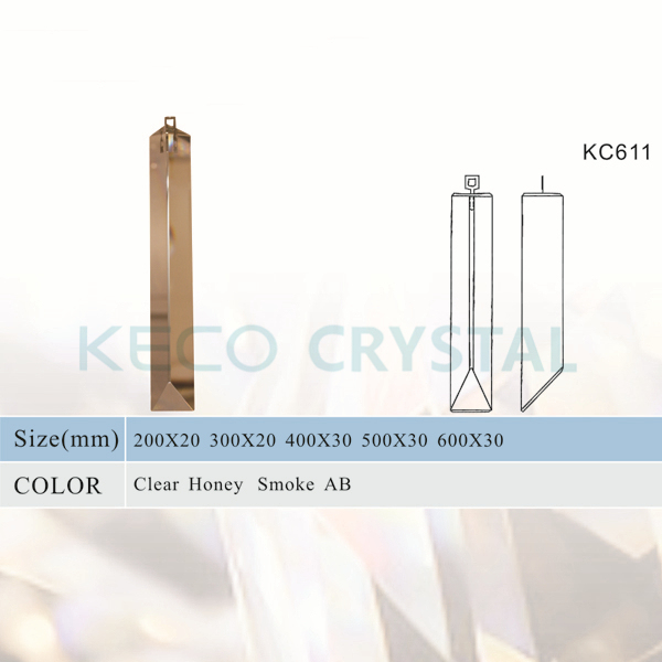K9 Triangle Chandelier Parts, keco crystal is work on all kinds of Chandelier Crystals & Chandelier Parts