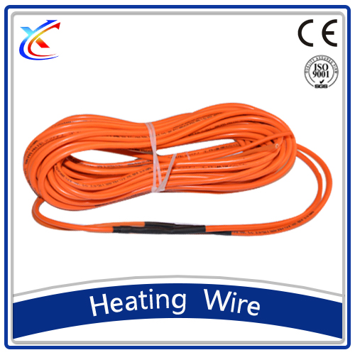 Teflon insulation non radiant floor heating cable