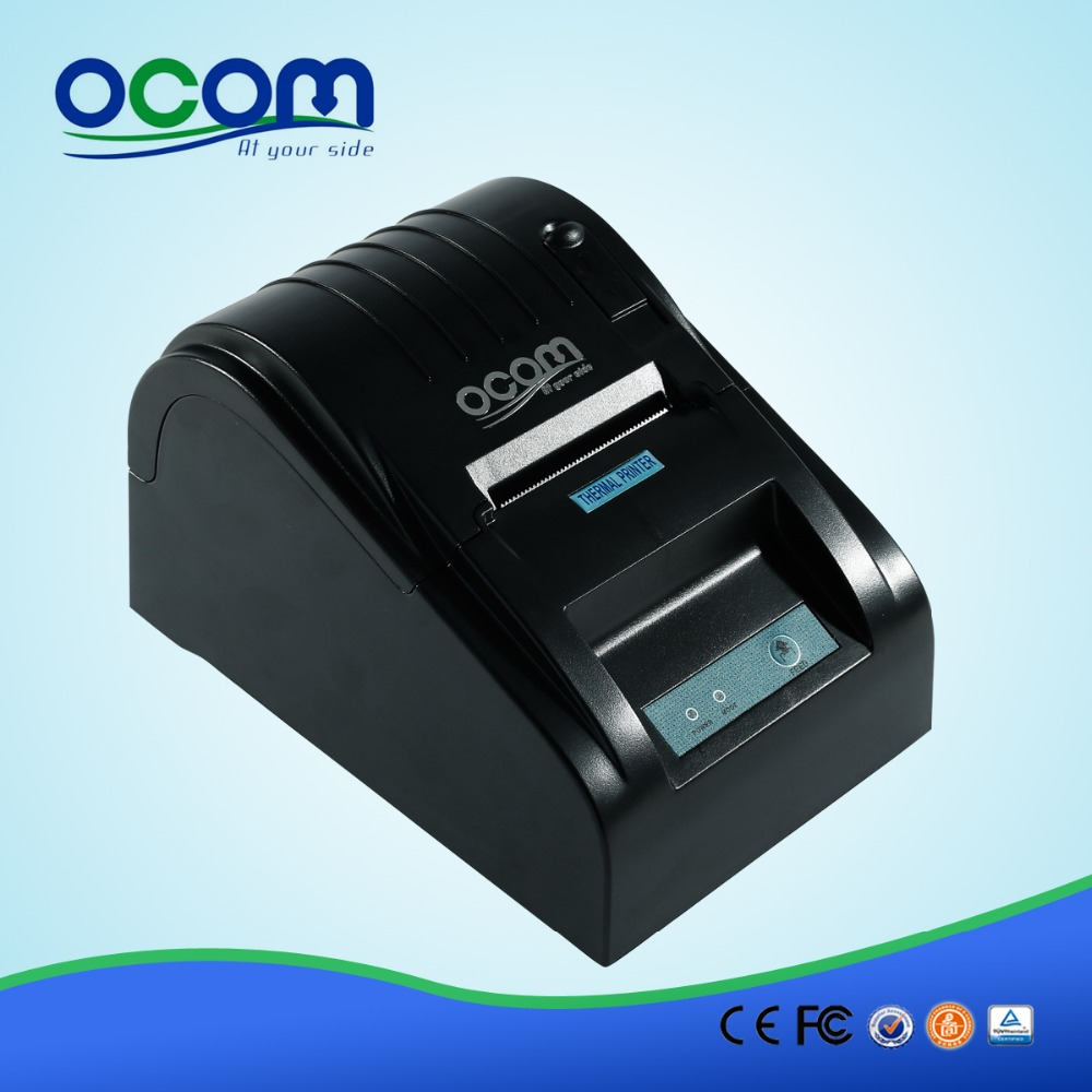OCPP-585 Supplier Qualified by Global Fortune 500 company,reciept thermal mobile printer china printer manufacturer