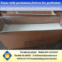 Fire Resistant Heat Resistant Thermal Insulation Fireproof Waterproof Non Asbestos Calcium Silicate Board