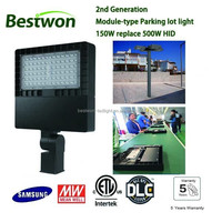 DLC Parking lot light 80W 100W 150W 200W 300W LED shoe box Area light ETL approved