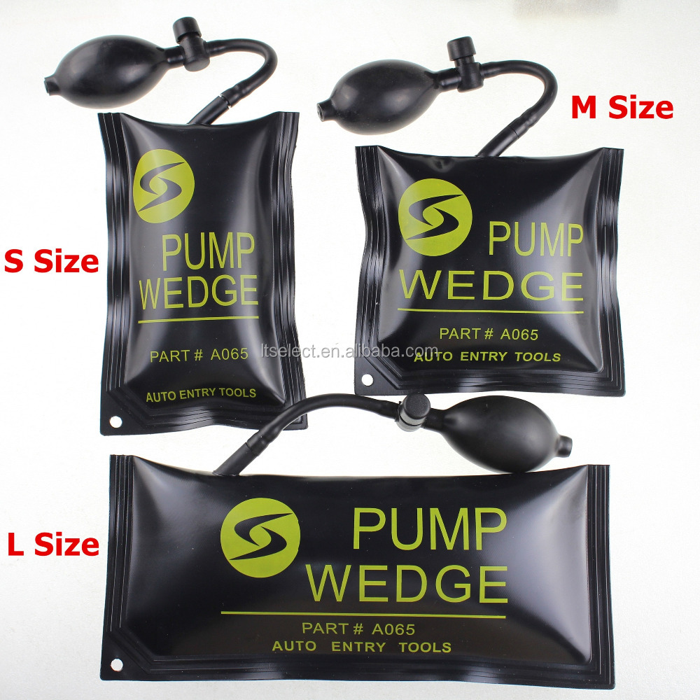Pump Wedge Locksmith Tools Auto Air Bags Wedge Lock Pick Open Car Door Lock Tools 3pcs/Set