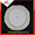 White round wool polishing pads for car polishing