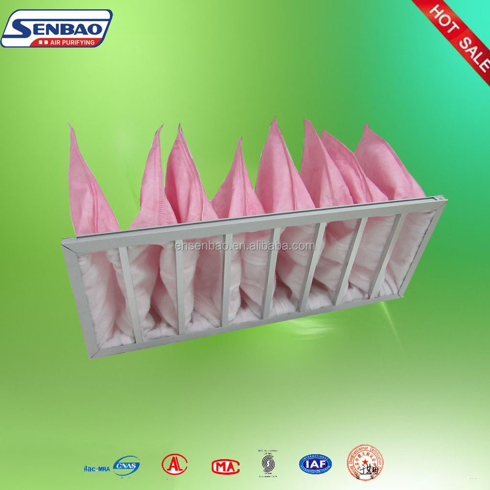 Ventilation system dust collector filter bag(pocket air filter)