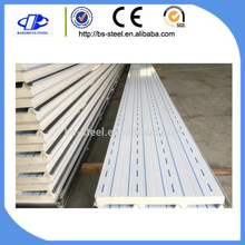 Polyurethane(PU) heat Insulation fire resistant sound absorbing cheap sandwich panels