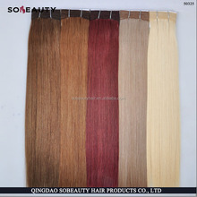 Top Quality Indian Remy Human Hair Weave Virgin Raw Unprocessed Russian Blonde Extensions