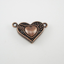 Heart shape decorative magnetic clasps