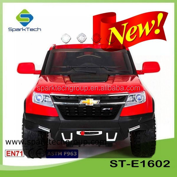 4WD + EPS Available Kids Electric Car Chevrolet Colorado Truck Model Ride On Car