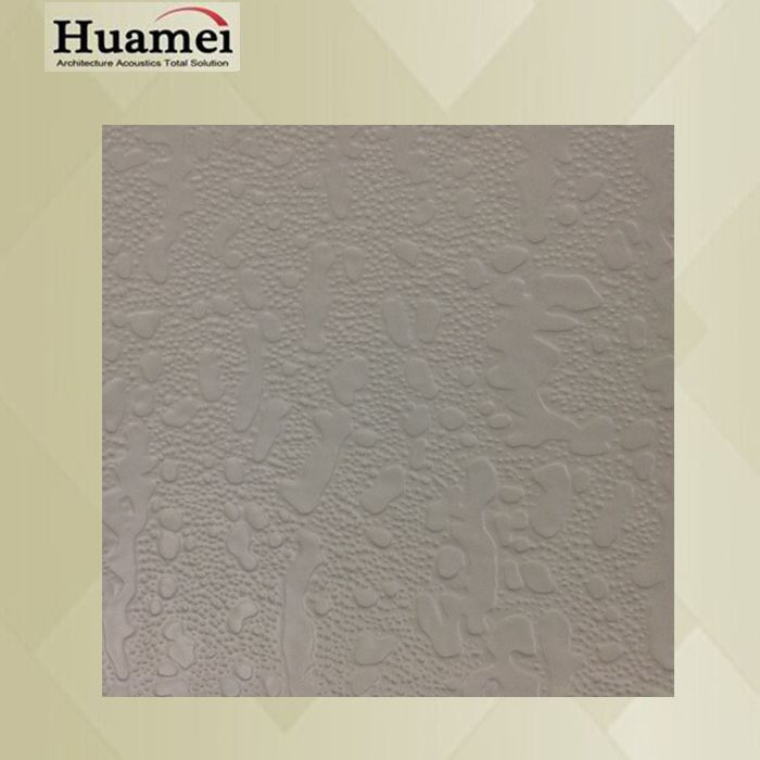 square 7.5mm thickness standard sizes white color pvc gypsum ceiling board