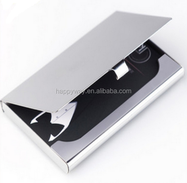 Wholesale business card holders metal,aluminium name metal card holder
