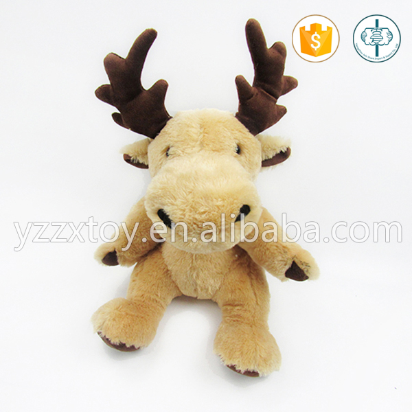 Wholesale custom horned cattle plush toy for kids