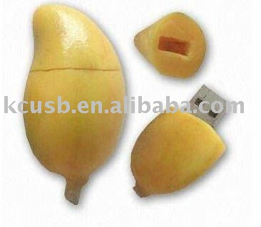 Food USB Flash Drive,mango shape USB Disk