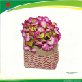 linen flower pot holder for flower package