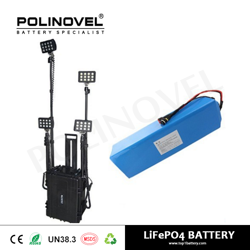 12v lithium ion battery lithium battery pack 12v 24ah for portable lighting