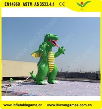 Guangzhou manufacturer giant animal Customized promotional inflatable dragon for sale