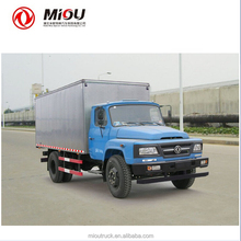 DongFeng cargo vans 4*2 china mini van truck for sale